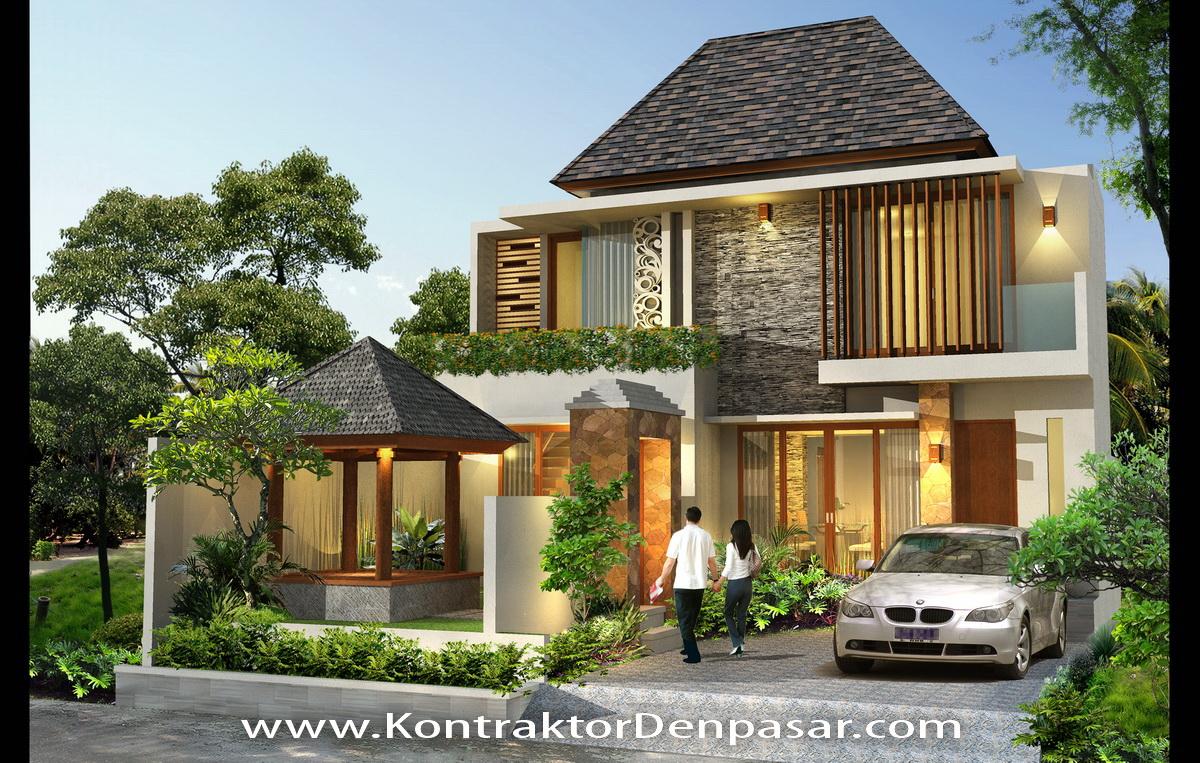 Desain Rumah luas 250 m2 ibu Suryani