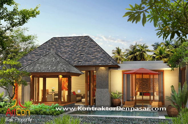 Desain Villa Luas 190m2 Made Parwata WM2Desain Villa Luas 190m2 Made Parwata