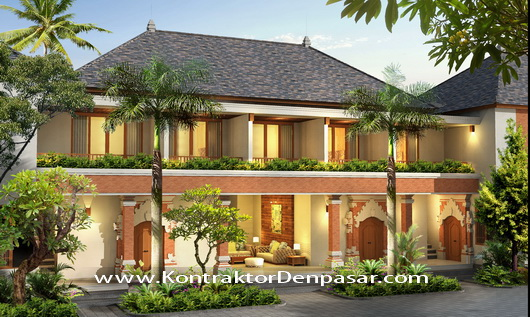 Desain Bangunan Homestay 7 Kamar milik Bpk Ketut Ratta