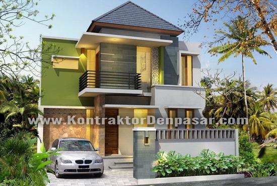 Desain Bangunan Tempat Tinggal Luas 90 m2 Pak Wahyu