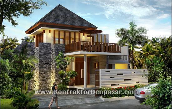 Desain Villa 250 m2 bpk Wira Kusuma Tabanan
