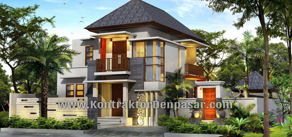 Desain Rumah Minimalis 2 Lantai Luas 350 m2 Pak Lesmana