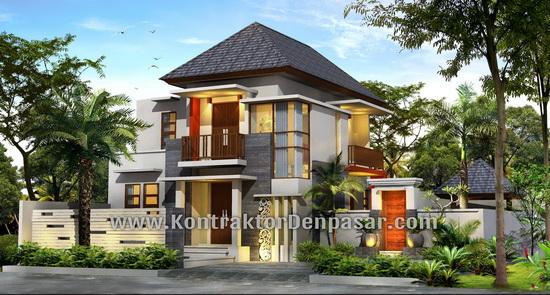 Desain Rumah 2 Lantai Luas 350 m2