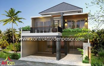 Desain Rumah Sekaligus Kantor Pak Herman Luas 360 m2