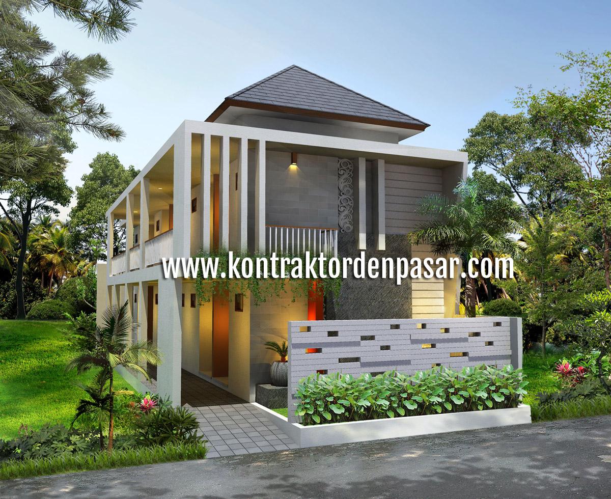 Desain Kos-kosan Minimalis Luas 250 m2 Pak Arya