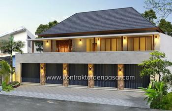 Desain Ruko 2 lantai Wayan Padmi luas 350m2