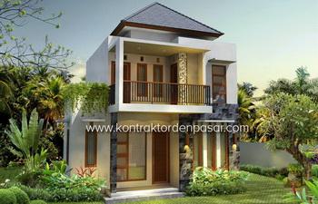 Desain Rumah 95m2 Bp Putra Denpasar