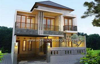 Desain Rumah 225m2 4 Kamar ibu Dayu di Denpasar
