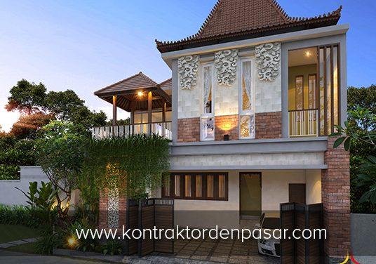 Desain Kost Elit 2 lantai luas 300 m2 Pak Warndo Jogja