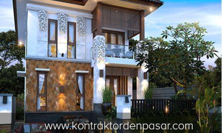 Desain Rumah 2 lantai luas 165 m2 Pak Putu di Jimbaran