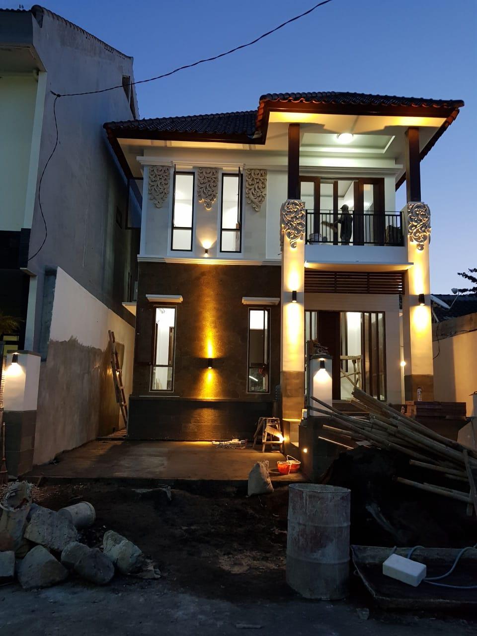 project rumah 2 lantai jimbaran kontraktor denpasar