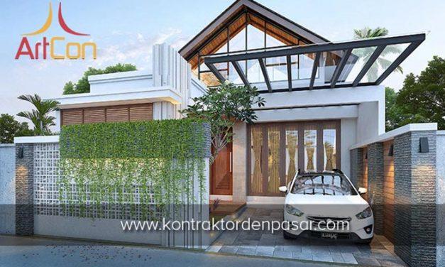 Desain Rumah 1 Lantai Bapak Susilo 3 Kamar Tidur Luas 135m2