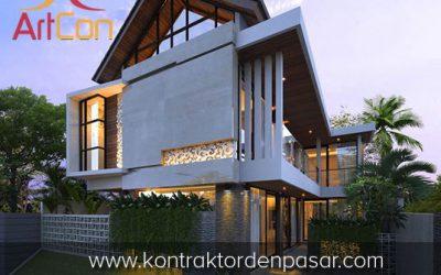 Desain Rumah 2 Lantai Bapak Jovan 4 Kamar Tidur Luas 200m2
