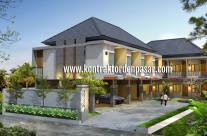 Desain Kos-kosan Pak IB Surya Luas 564 m2