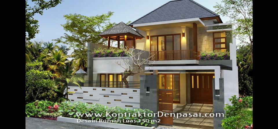 Desain Rumah luas 150 m2 milik Bpk Made Judyartha