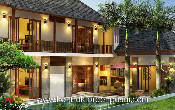 Villa Gaya Bali Tropis 315m2 pak Nyoman Budiarta