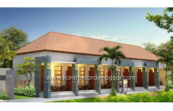 Desain Kost 6 kamar Bp Dewa 140m2 Denpasar