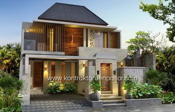 Desain Rumah bp Eka 215m2 Denpasar