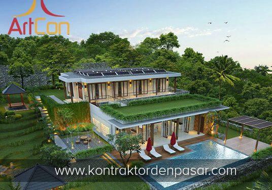 Desain Villa Pribadi 2 Lantai Bp. Tiopan 3 Kamar Tidur dengan Kolam Renang di Desa Kayu Putih Buleleng – Bali