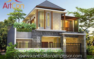 Desain Rumah 2 Lantai Bapak Toha 3 Kamar Tidur Luas 106m2