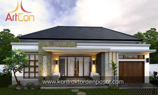 Desain Rumah 1 Lantai Bapak Jamil 2 Kamar Tidur Luas 117 m2